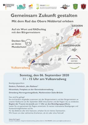 Foto zur Meldung: Gemeinsam Zukunft gestalten - Mit dem Rad das Obere Niddertal erleben
