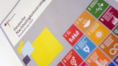 Vorschaubild zur Meldung: Bundesregierung aktualisiert Nachhaltigkeitsstrategie - Bürger*innen können sich an der Diskussion beteiligen