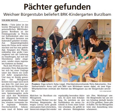 Zeitungsartikel Dachauer Nachrichten