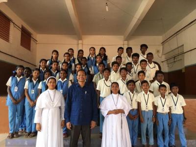 Bild der Meldung: Pater Rockose berichtet aus Indien von seiner Arbeit