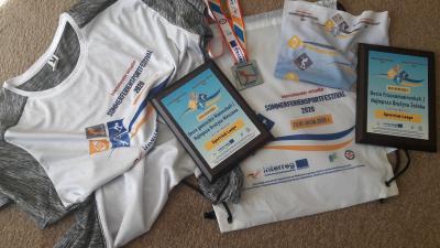Foto zur Meldung: Post aus Polen ließ Laager Sportler feiern