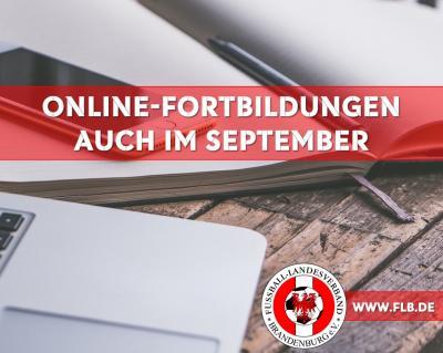 Vorschaubild zur Meldung: Online-Fortbildung im September jetzt buchen!