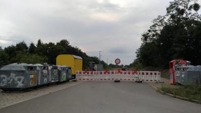 Foto zur Meldung: Kurzinformation - Parkplatzerweiterung am Bahnhof