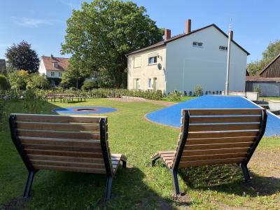 Vorschaubild zur Meldung: Freiraumgestaltung Glockenkolk – 1. Abschnitt des Bürgerparks fertiggestellt
