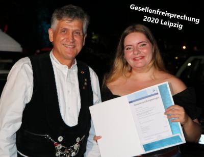 Gesellenfreisprechung August 2020 in Leipzig