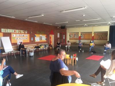 Foto zur Meldung: Erste Hilfe Schulung Kollegium