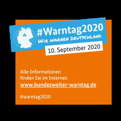 Bild der Meldung: Bundesweiter Warntag 2020