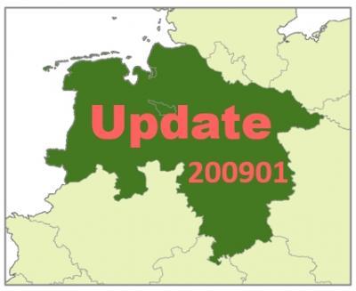 Niedersachsen auf neuestem Stand