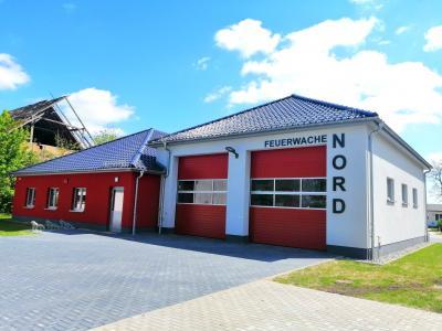 Vorschaubild zur Meldung: Feuerwache Nord fertiggestellt und offiziell übergeben