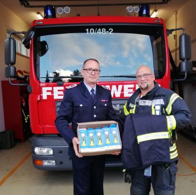 Vorschaubild zur Meldung: Förderverein unterstützt Freiwillige Feuerwehr