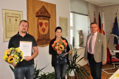 Foto zur Meldung: Erfolgreicher Ausbildungsabschluss in der Verbandsgemeinde Liebenwerda