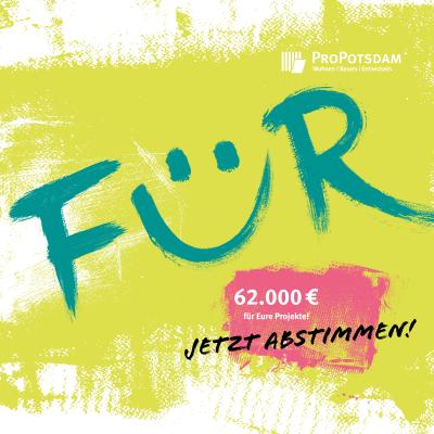 """Vorschaubild zur Meldung: Projekt """"Gemeinsam für Potsdam"""" gestartet"""