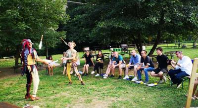 Vorschaubild zur Meldung: Unsere Gruppe ist gesund und motiviert aus Spoleto zurückgekommen.