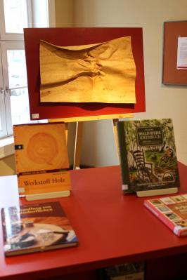 Vorschaubild zur Meldung: Bibliothek im Kontor öffnet wieder samstags / Kunstwerk ausgestellt