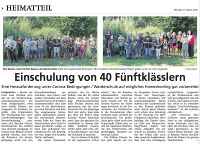 Einschulung 2020 Heiligenhafener Post