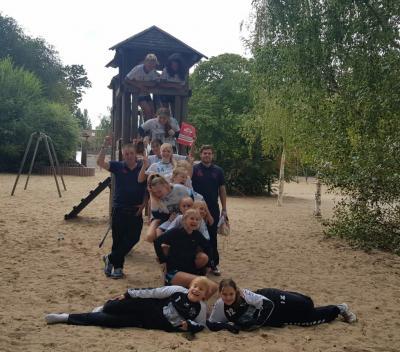 Foto zur Meldung: Sparkassencup 2020 mit der D-Jugend
