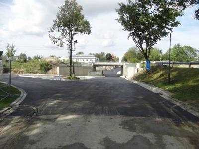 Foto zur Meldung: Baldige Fertigstellung der Bahnunterführung