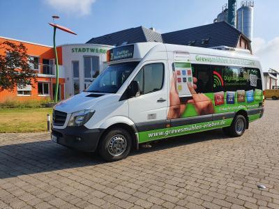 Vorschaubild zur Meldung: Nahbus Pressemittelung - Stadtbus Grevesmühlen-Digitale Stadt