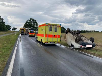 Foto zu Meldung: Unfall zwischen Lehnin und Michelsdorf