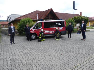 Bild der Meldung: Moderne Wärmebildkamera für die Feuerwehr von der SV SparkassenVersicherung