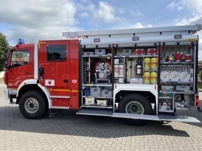 Foto zur Meldung: Neues Kat Schutz Fahrzeug im Amt Arensharde