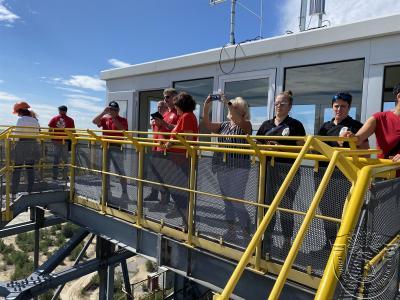 Vorschaubild zur Meldung: LCV-Fahrt ins Besucherbergwerk Lichterfeld
