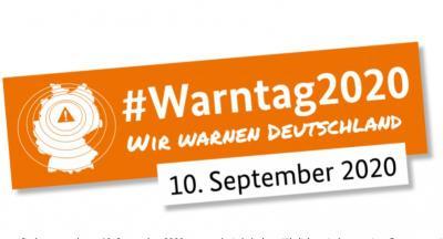 Vorschaubild zur Meldung: Bundesweiter Warntag 10.09.2020