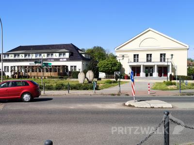 Die Einmündung von der Gartenstraße auf den Kietz ist ab 7. September für eine Woche gesperrt. Foto: Beate Vogel