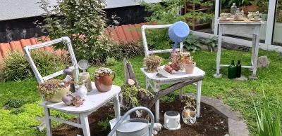 Foto zur Meldung: Gartenvielfalt im herbstlichen Gewand: Bei Petra und Jörg Schneider blüht es auch im September üppig