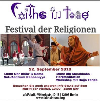 Foto zur Meldung: 4. Festival der Relligionen