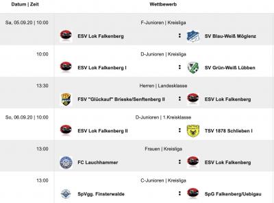 Foto zur Meldung: Fußball: +++Glückauf für Lok-Elf bei Brieske II ?+++