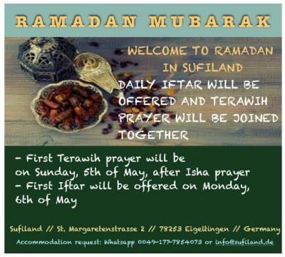 Foto zur Meldung: Ramadan in Sufiland