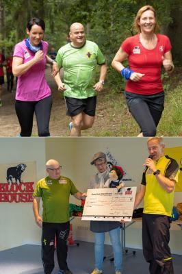Foto zur Meldung: Blocky-Block Spendenlauf machte Spaß und stolz