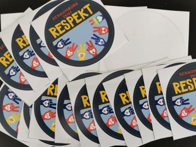 Vorschaubild zur Meldung: KFV - Respekt Aufkleber