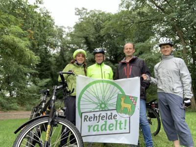 Foto zu Meldung: Radeln für Rehfelde war das Motto der heutigen Rehfelde Rundtour