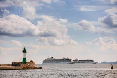 Vorschaubild zur Meldung: Viking Ocean Cruises im Sassnitzer Hafen