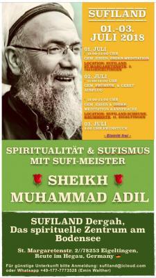 Foto zur Meldung: Grandsheikh Muhammad Adil visit Sufiland