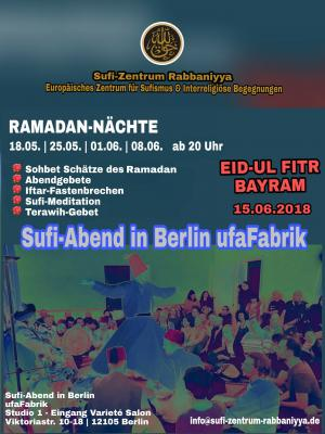 Foto zur Meldung: Sufi-Abend in Berlin ufaFabrik