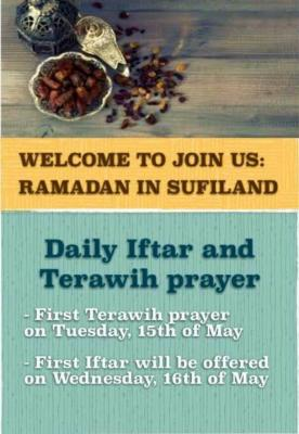 Foto zur Meldung: Daily Iftar and Terawih prayer