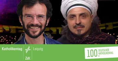Foto zur Meldung: Katholikentage mit Sheikh Eşref Efendi
