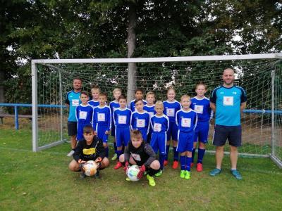 TSV Eggersdorf D-Jugend im September 2020