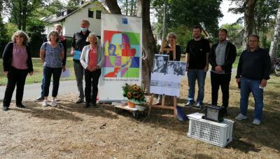 Vorschaubild zur Meldung: Gedenkfeier für Theodor Andresen