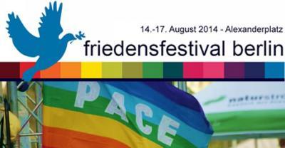 Foto zur Meldung: 6. Friedensfestival Berlin - Alexanderplatz
