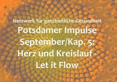 Bild der Meldung: September-Impuls: Herz und Kreislauf - Let it Flow