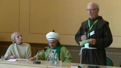 Foto zur Meldung: Christlich-islamische Bibelarbeit beim Katholikentag