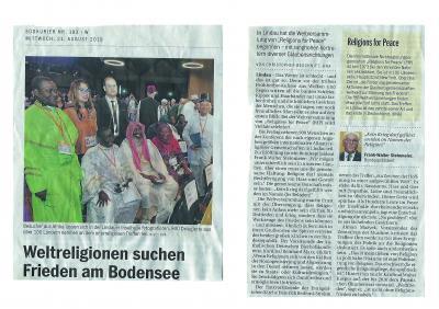 Foto zur Meldung: Weltreligionen suchen Frieden am Bodensee