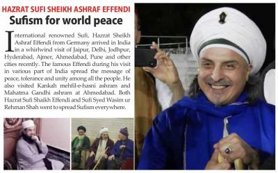 Bild der Meldung: Sufism for world peace