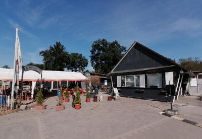 Der neu gestaltete Eingangsbereich auf dem Nauheimer Campingplatz. © Gemeinde Nauheim