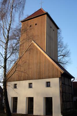 Foto zur Meldung: LEADER-Projekt Kirchturm Brüsenhagen ausgezeichnet!