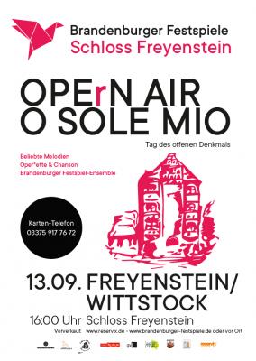 Vorschaubild zur Meldung: Operette und Chanson – beliebte Melodien im Freyensteiner Schlosspark
